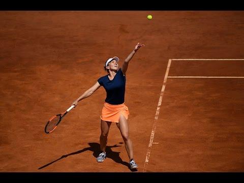2017 Internazionali BNL d`Italia Round of 16   Halep vs Pavlyuchenkova   WTA Highlights