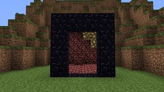 getlinkyoutube.com-Magic Nether Portal in Minecraft
