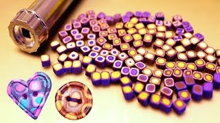 "getlinkyoutube.com-♥ Полимерная глина - ""ШПРИЦЕВАЯ"" техника / polymer clay extruder techniques"