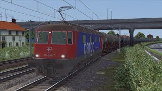 getlinkyoutube.com-LET`S TEST Train Simulator 2015 / Test der Re 6/6 (Re 620) Beta der SBB von CreativeworX