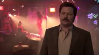 getlinkyoutube.com-Parks and Recreation - Ron Swanson on Strippers