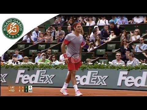 Lacko v. Federer : 2014 French Open Men's 1st Round Highlights