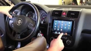 getlinkyoutube.com-Soundwaves of Tampa installs iPad Mini into 2010 VW Jetta with Sony App Remote