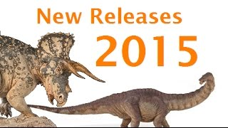 getlinkyoutube.com-New 2015 Dinosaurs by Papo, Safari, Schleich, CollectA, Battat, Sideshow