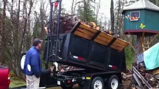 getlinkyoutube.com-Homemade Dump Trailer