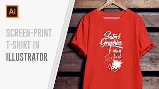 How To Design Screen Print T-Shirts In Illustrator