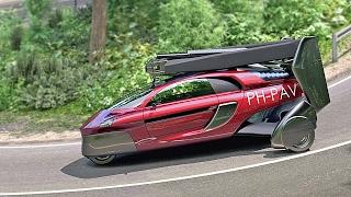 getlinkyoutube.com-Flying Car – PAL-V Liberty 2018 – World First Flying Car on Sale