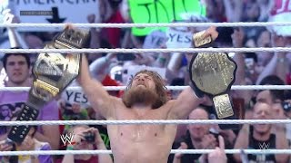 getlinkyoutube.com-Daniel Bryan wins the WWE World Heavyweight Championship: WrestleMania 30