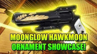Moonglow hawkmoon tho hawkmoon ornament showcase destiny rise of