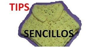 getlinkyoutube.com-Como unir capa triangular y crecer el cuello, sencillas opciones #Ganchillo #Crochet #Capa #Poncho