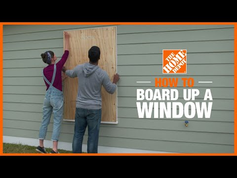 How to Board Up Windows