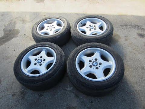 БМВ Е34 Ремонт колес (дисков), вибрация BMW E34