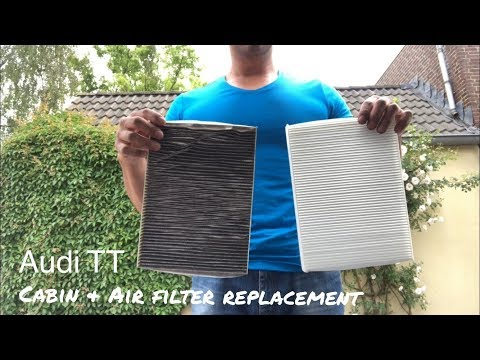 Let's Fix it! - Audi TT Cabin & Air filter replacement