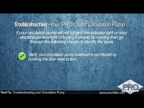 Pro Refrigeration Tech Tip: Troubleshooting a Circulation Pump
