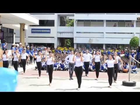 กองเชียร์กีฬาสีน้ำเงิน วิทยาลัยเทคนิคพัทลุง 2557