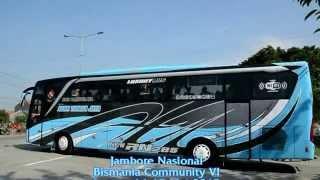 getlinkyoutube.com-Konvoi 23 bus dari Terminal Kudus Jamnas BMC VI, Jepara