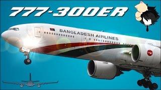 getlinkyoutube.com-Biman Bangladesh Airlines Boeing 777-300ER Dhaka To London Business Class