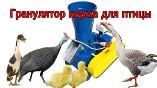 getlinkyoutube.com-Гранулятор корма Артмаш 4 кВт.