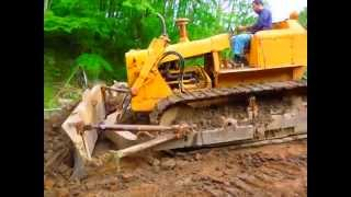 getlinkyoutube.com-Ruspa Fiat Allis AD10 Bulldozer