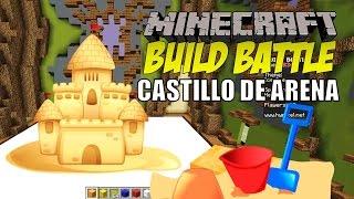 getlinkyoutube.com-Minecraft: Build Battle, El Castillo de Arena