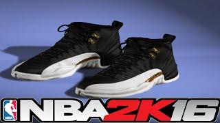 getlinkyoutube.com-NBA 2K16 Shoe Creator - Jordan 12 Wing 👟🔥 ⋆#NBA2K16⋆