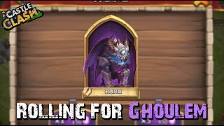 Castle Clash Rolling For Ghoulem!
