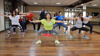 getlinkyoutube.com-Zumba Warm-up on Sean Paul She Doesn't Mind Remix by Vijaya