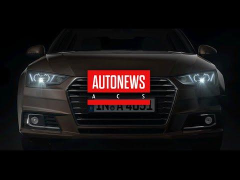Audi выпустила информационные светодиодные фары для японского рынка
