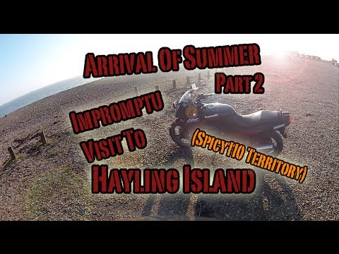Arrival Of Summer Part 2: Impromptu Visit To Hayling Island