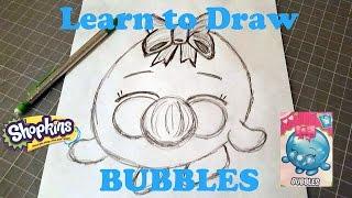 getlinkyoutube.com-Learn to Draw Shopkins Bubbles