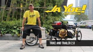 getlinkyoutube.com-RECUMBENT TRIKE and TRAILER 2.0 | JAYOE WORLD TOUR