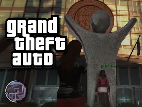 GTA Funny Moments and Stuff 27!  (Upside Down Turtles!)