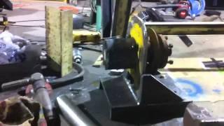 getlinkyoutube.com-Homemade water well rig # 1