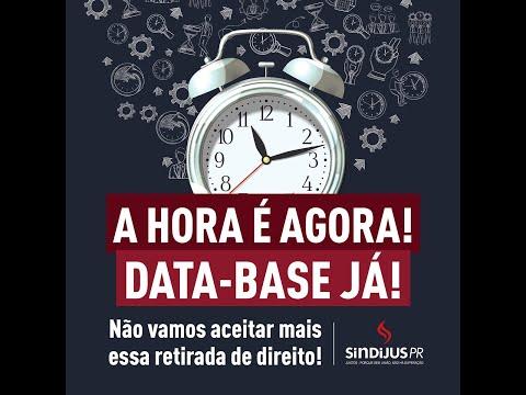 Data-Base Já: Vamos à luta pela reposição das perdas salariais! Venha unir forças!