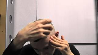 getlinkyoutube.com-スキンヘッドにしたついでに、まゆ毛も剃ってみました。