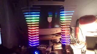 getlinkyoutube.com-LED VU-meter tower stereo final
