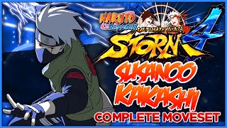 getlinkyoutube.com-[PC] NARUTO SHIPPUDEN: Ultimate Ninja STORM 4 | Susanoo Kakashi Moveset (Awakening & Ultimate Jutsu)