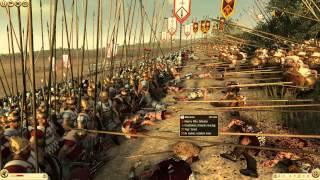 getlinkyoutube.com-Total War Rome 2: Macedonian Phalanx slugs it out against the Seleucids