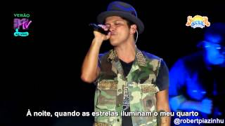 getlinkyoutube.com-Bruno Mars - Talking To The Moon (Live HD) Legendado em PT- BR