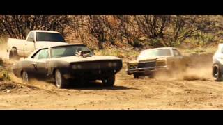 getlinkyoutube.com-Fast & Furious 1,3,4,5,6 history of the Dodge Charger/Форсаж1-6 история Чарджер