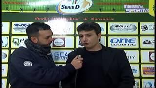 Marcianise-Tiger Brolo 0-0. Il commento del tecnico ospite a fine gara