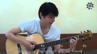 getlinkyoutube.com-Akustik Gitar - Belajar Lagu (See You Again - Wiz Khalifa)
