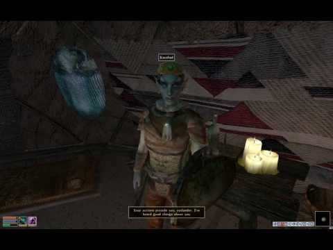 Let's Play Morrowind | Poncho the Wanderer | Pt. 36 - Zainab Nerevarine