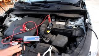 getlinkyoutube.com-Jak szybko naładować głęboko rozładowany akumulator, a przy tym oszukać ładowarkę!!!