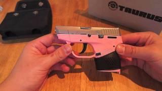 getlinkyoutube.com-Taurus 738 TCP .380 Pocket Pistol Review Pink
