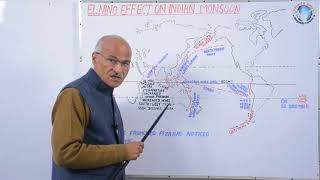 EL-Nino Effect On Indian Monsoon In Hindi // By Prof. SS Ojha // University of Allahabd