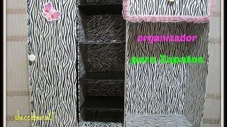 getlinkyoutube.com-mueble organizador para zapatos hecho de cartón