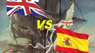 getlinkyoutube.com-Santisima Trinidad vs HMS Victory