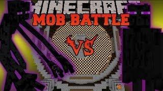 getlinkyoutube.com-MUTANT ENDERMAN VS ENDER GUARDIAN - Minecraft Mob Battle - Mutant Creatures & The End Mods