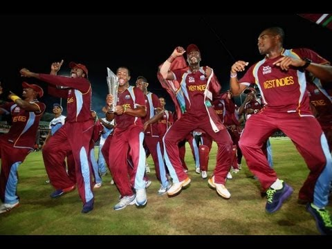 Chris Gayle & Team Gangnam Dance Celebrations After Winning T20 World Cup